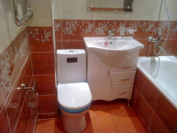 Ремонт ванной и туалета под ключ в мариуполе