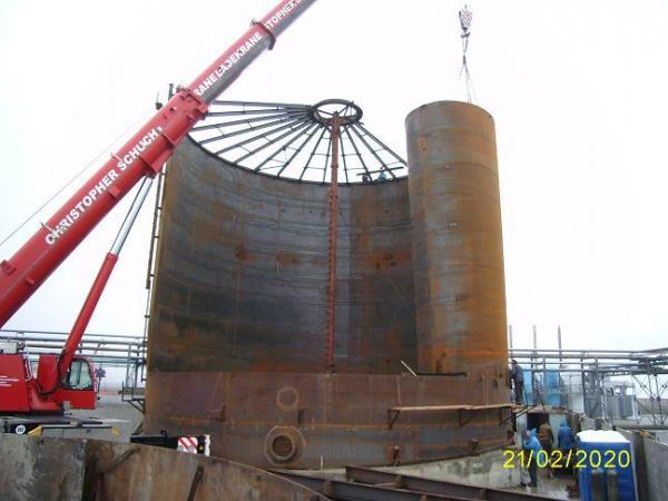 Строительство вертикальных цилиндрических резервуаров