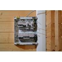 Монтаж электропроводки, установка светильников и другие электротехнические работы