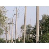 Установка столбов, установка опор ЛЭП