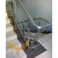 Интерьерные лестницы из металла, дерева, комбинированные. Перила из нержавеющей стали