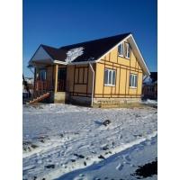 Строительство каркасно-панельных и брусовых домов