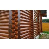 герметизация срубов домов и бань