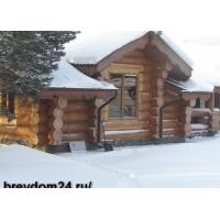 Рубленные дома и бани из бревна, поставки срубов -действует Акция