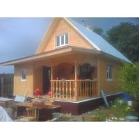 Изготовление домов, бань, срубов из кругляка, оцилиндрованного бревна, профилированного бруса