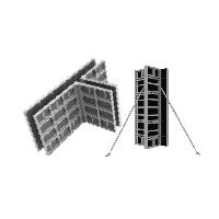 Аренда опалубки фундаментов,стен,колонн,перекрытий в Самаре