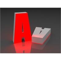 Изготовление букв. Объемные световые буквы