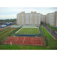 Строительство спортивных сооружений, стадионы, теннисный корт, детские и игровые площадки, футбольное поле, хоккейный корт, наливное и рулонное спортивное резиновое покрытие