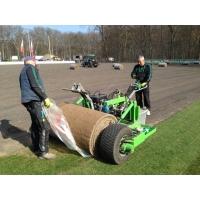 Строительство футбольных полей с натуральным рулонным газоном Richter Rasen