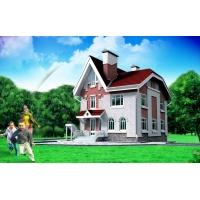 Строительство домов и коттеджей. Строительные работы от фундамента до кровли