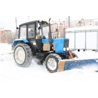 Услуга по уборке территорий от снега