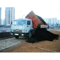 Погрузка и доставка сыпучих материалов