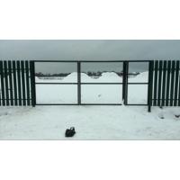 Ворота и заборы на винтовых сваях