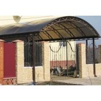 Изготовление и монтаж металлических ворот, калиток с элементами ковки.