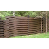 Деревянный забор «Модерн»