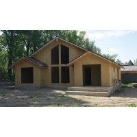 Строительство быстровозводимых деревянно-каркасных сборно-щитовых домов, коттеджей из сэндвич панелей (SIP) по канадской технологии