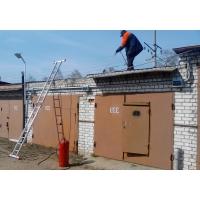 Демонтаж кровли, Кровельные работы гаража в Хабаровске