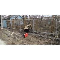 Изготовление каркаса под забор