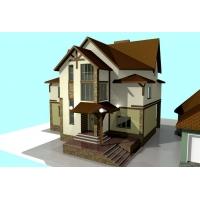 Дизайн-проекты ярких, стильных домов!