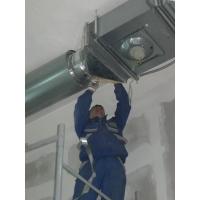 Установка вентиляции и вентиляционного оборудования