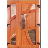 Установка деревянных  дверей