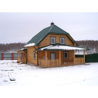 Строительство и отделка домов, бань, беседок и других сооружений из: