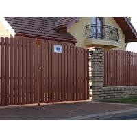 Забор из штакетника под ключ от производителя