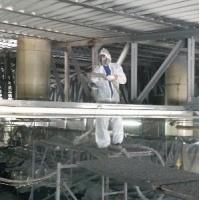 Антикоррозийная обработка металлоконструкций методом напыления полимочевины