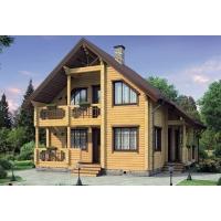 Деревянные дома ключ