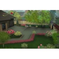 ландшафтный дизайн проект земельного участка (3D – моделирование).