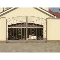 Забор из кованных элементов под ключ от производителя
