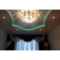 Натяжные потолки со светодидной подсветкой