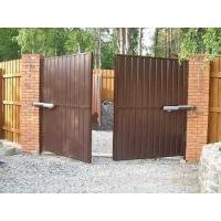 Ворота распашные из профлиста, сетки рабица, панелей