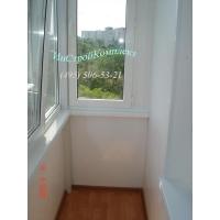 Установка ал.раздвижек Provedal, монта окон, отделка и остекление балконов и лоджий