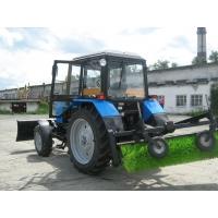 Аренда трактора МТЗ 82 с щеткой