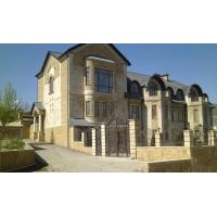 Облицовка фасадов плиткой из дагестанского камня