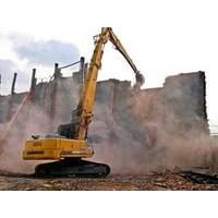 Демонтаж и снос зданий, стен, конструкций