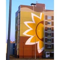 Качественная покраска фасадов и сооружений, ремонт фасадов.