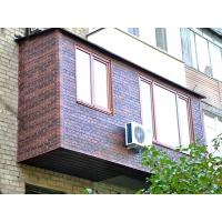 Утепление и обшивка (облицовка) балконов, лоджий