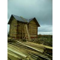 Строительство дома из бруса, бревна