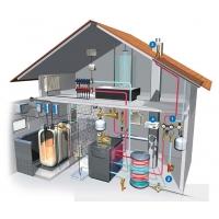 Монтаж инженерных систем. Отопление, электрика, вентиляция