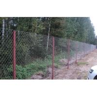 Строительство забора из сетки рабица по низким ценам