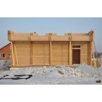 Строительство деревянных домов из бруса клеенного профилированного поганажа