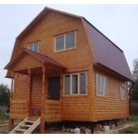строительство домов из профилированного бруса под ключ за 14 дней