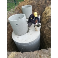 Копка колодцев питьевых и канализационных, углубление и чистка