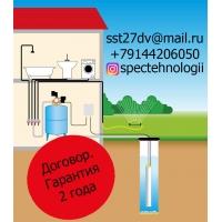 Обустройство скважин, заводка воды со скважены, колодца и других источников.