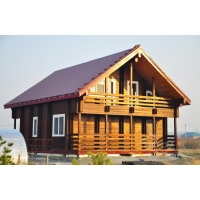 Строительство домов бань дач беседок из двойного бруса