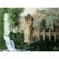 Декорирование бассейна, роспись, рельефы и скульптурный бетон
