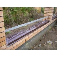 Изготовление парапетов для заборов и крыш