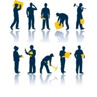 услуги разнорабочих, подсобных рабочих